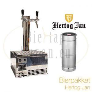 Bierpakket Hertog Jan 20 liter fust met tap